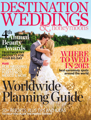 Destination Weddings & Honeymoons Jan / Feb 2013