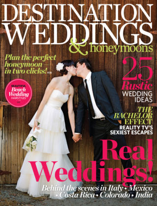 Destination Weddings & Honeymoons October 2013