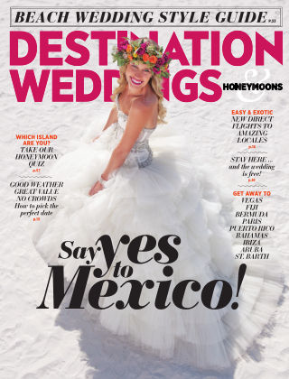 Destination Weddings & Honeymoons July / August 2014