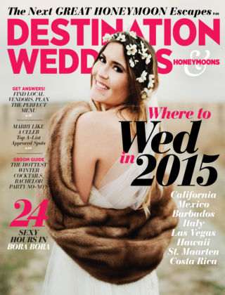 Destination Weddings & Honeymoons Nov/Dec 2014
