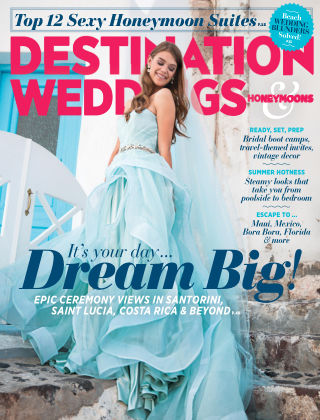 Destination Weddings & Honeymoons July / August 2015