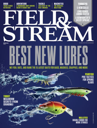 Field & Stream March 2014