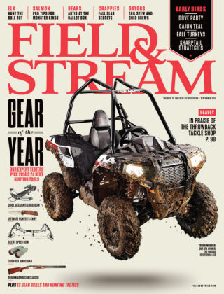 Field & Stream September 2014