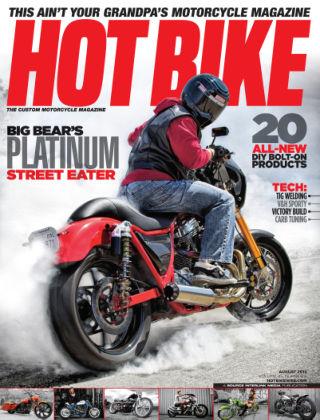 Hot Bike August 2013