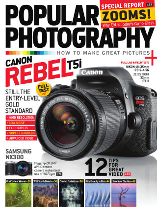 Popular Photography August 2013