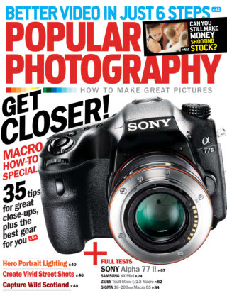 Popular Photography August 2014