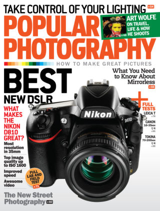 Popular Photography October 2014