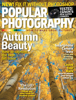 Popular Photography October 2015