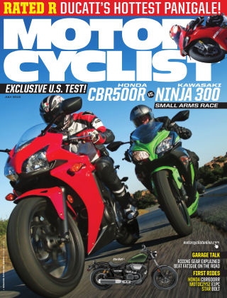 Motorcyclist July 2013