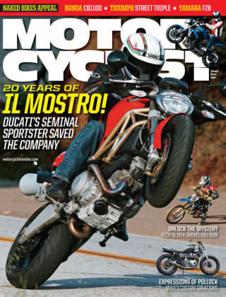 Motorcyclist August 2013
