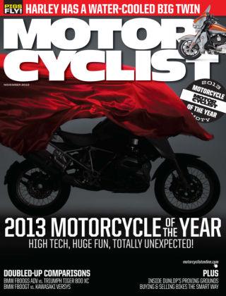 Motorcyclist November 2013