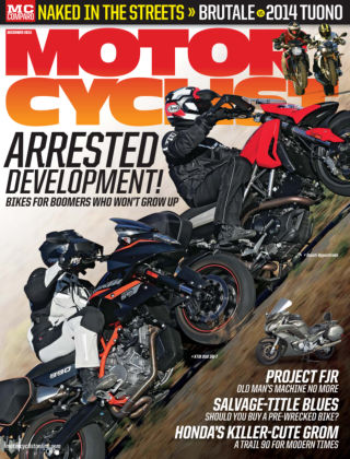 Motorcyclist December 2013