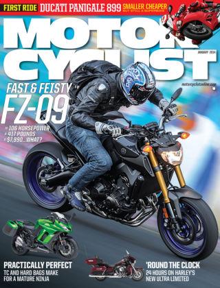 Motorcyclist January 2014