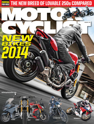 Motorcyclist February 2014
