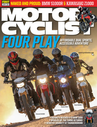 Motorcyclist March 2014
