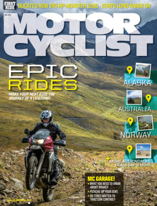 Motorcyclist May 2014