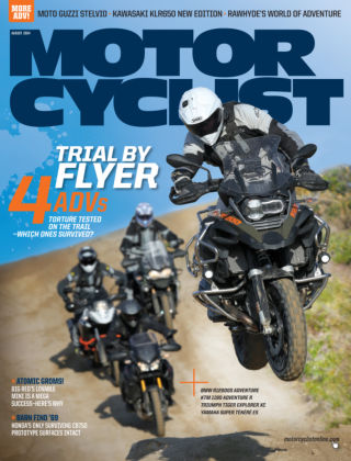 Motorcyclist August 2014