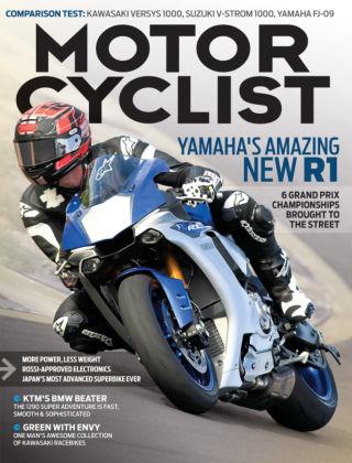 Motorcyclist May 2015