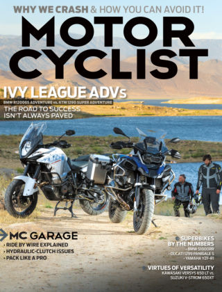 Motorcyclist August 2015