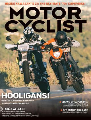 Motorcyclist Jun 2016