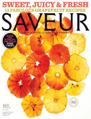 Saveur March 2014