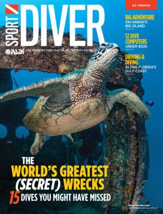 Sport Diver September 2013