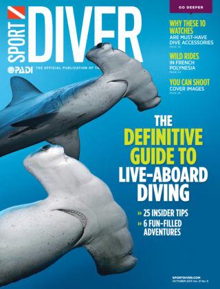 Sport Diver October 2013