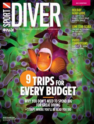 Sport Diver Nov/ Dec 2013