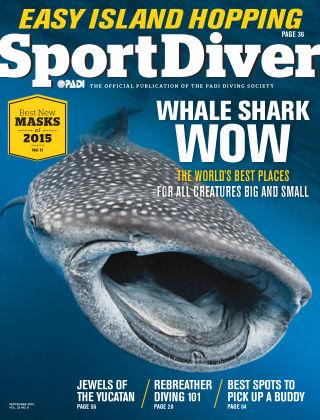 Sport Diver September 2015