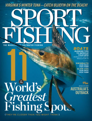 Sport Fishing January 2014