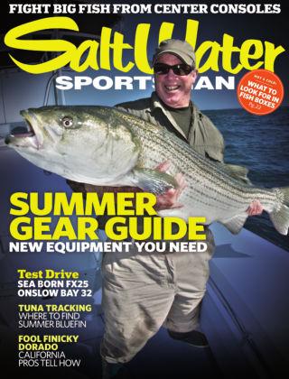 Salt Water Sportsman July 2013
