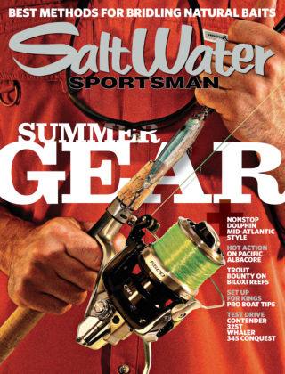 Salt Water Sportsman July 2014