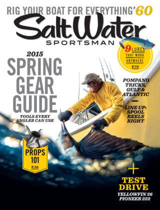 Salt Water Sportsman March 2015