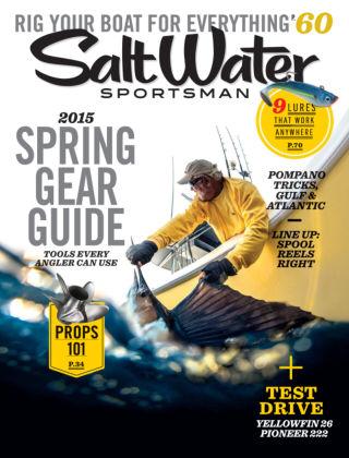 Salt Water Sportsman March 2015