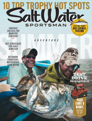 Salt Water Sportsman June 2015