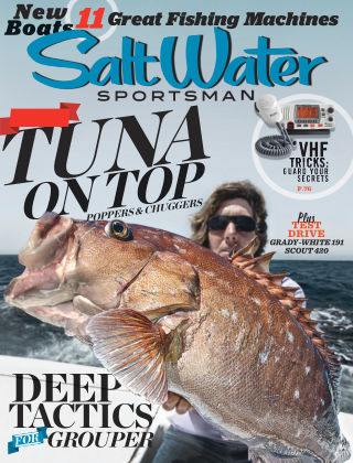 Salt Water Sportsman July 2015