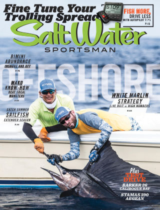 Salt Water Sportsman Aug / Sept 2015