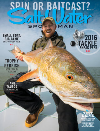 Salt Water Sportsman October 2015