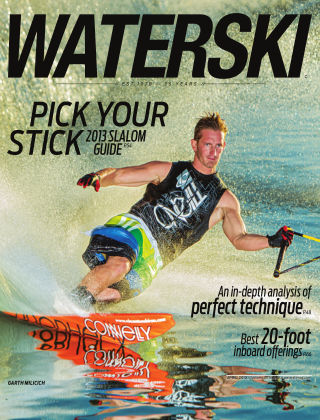 Waterski April 2013