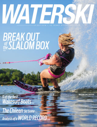 Waterski May 2013