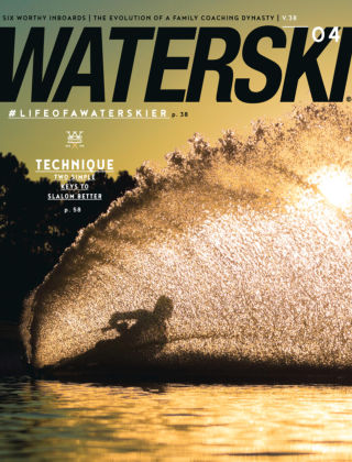 Waterski Jul-Aug 2016