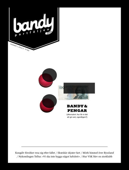 Bandyportföljen (Inga nya utgåvor) September 05, 2016 00:00