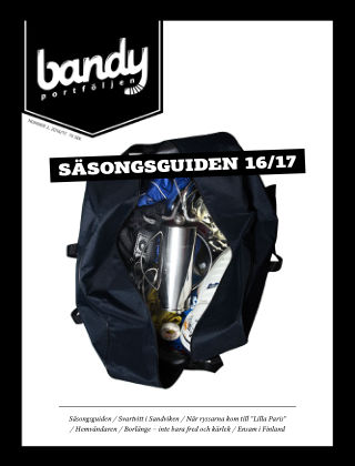 Bandyportföljen 2016-10-25