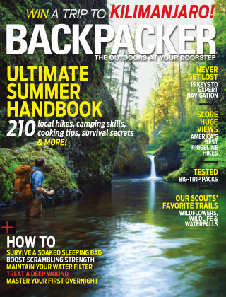 Backpacker May 2013