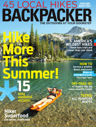 Backpacker July / Aug 2013