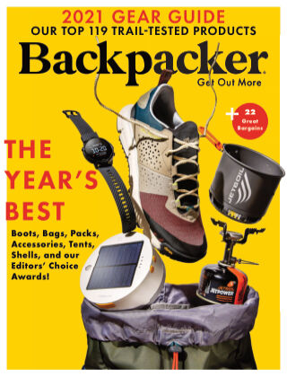 Backpacker March April 2021