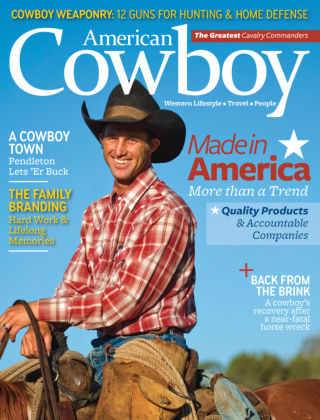 American Cowboy Aug / Sept 2015