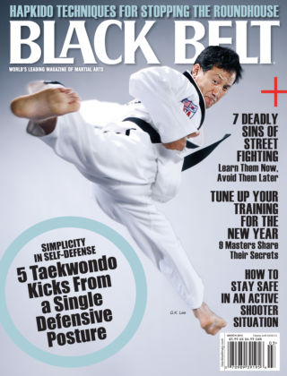 Black Belt March 2013