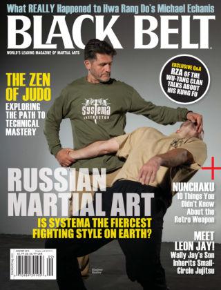 Black Belt Aug / Sept 2013