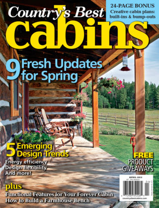 Cabin Living April 2013